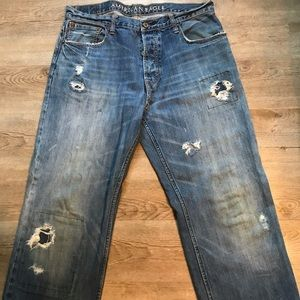 American Eagle Low Loose Jeans 36x32